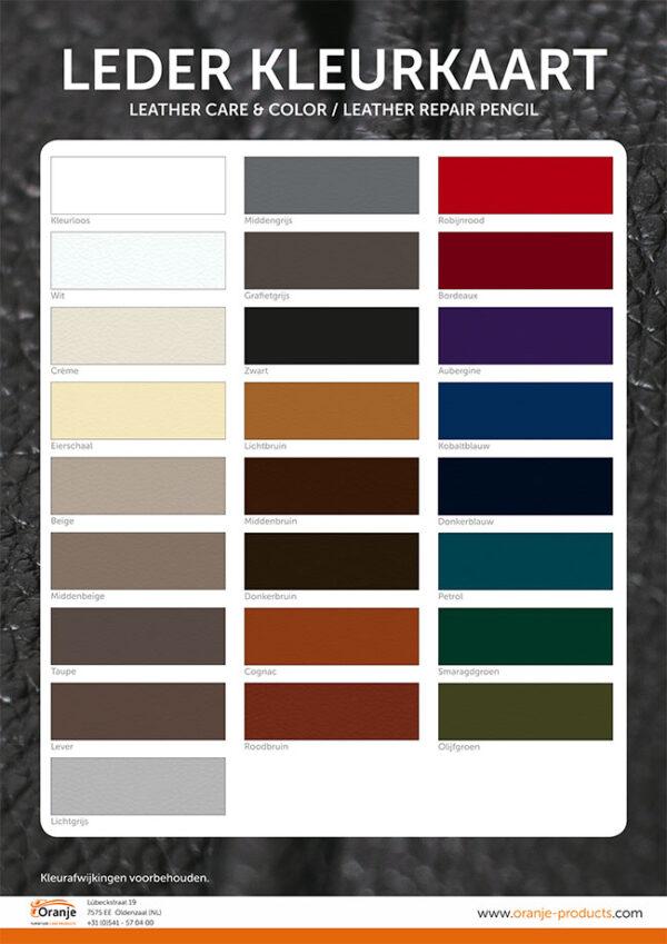 Kleurkaart-leather&color