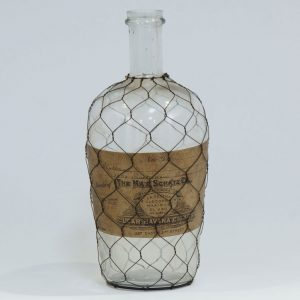 Bombay 7 1 Glass Decorative Bottle