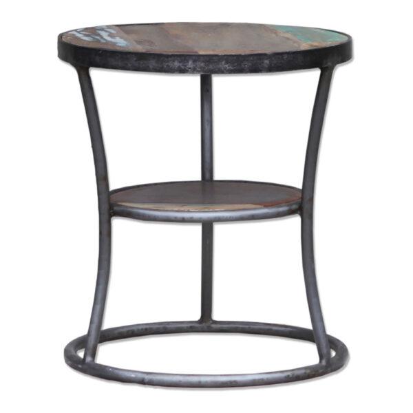 End Table Shelf White (1030) 2
