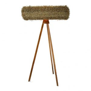 Floorlamp Wicker Hedge 280-175-040
