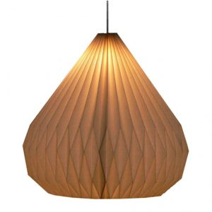 Hanglamp Dome Papier Wit 280-255-001