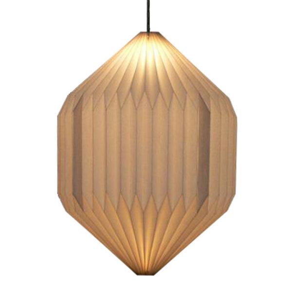 Hanglamp Oblong Papier Wit 280-255-002