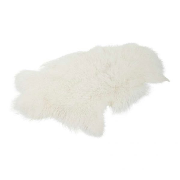 Kleed Sheepskin Snow White 2