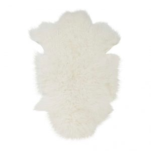 Kleed Sheepskin Snow White