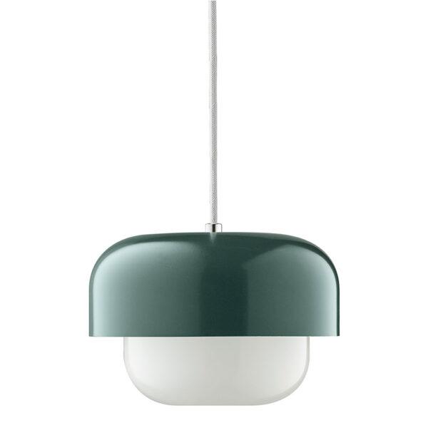 Plafondlamp Haipot 23 Cm Donkergroen