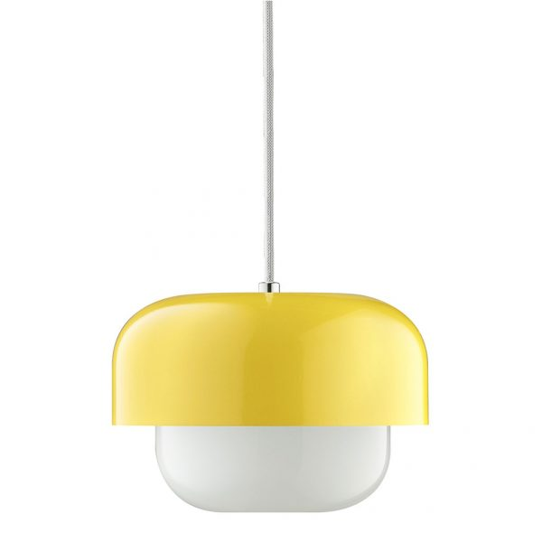 Plafondlamp Haipot 23 Cm Geel