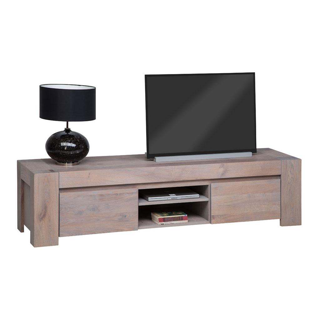 Computer En Tv Meubel.Tv Dressoir Stone Huizen 3 Vaks Molenaar Meubelen