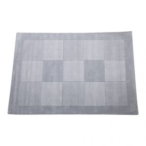 Vloerkleed Dam Square Silver