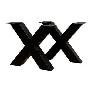 Salontafel Metalen X-poot