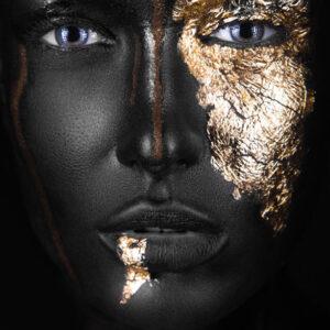 Aluart Dark Skinned Girl Close Up