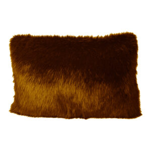 Cushion Cover Faux Fox Brown255-630-024