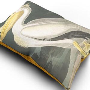 Sierkussen-cus005-snowy-heron-bird