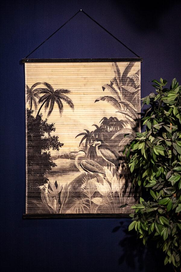Wanddecoratie Miyagi Jungle