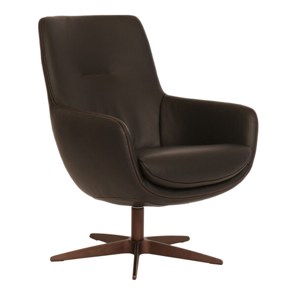 Koraal-fauteuil-brown