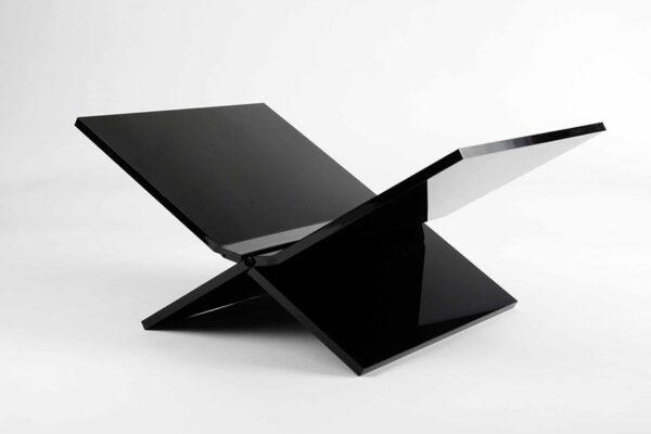 Boekenstandaard-zwart